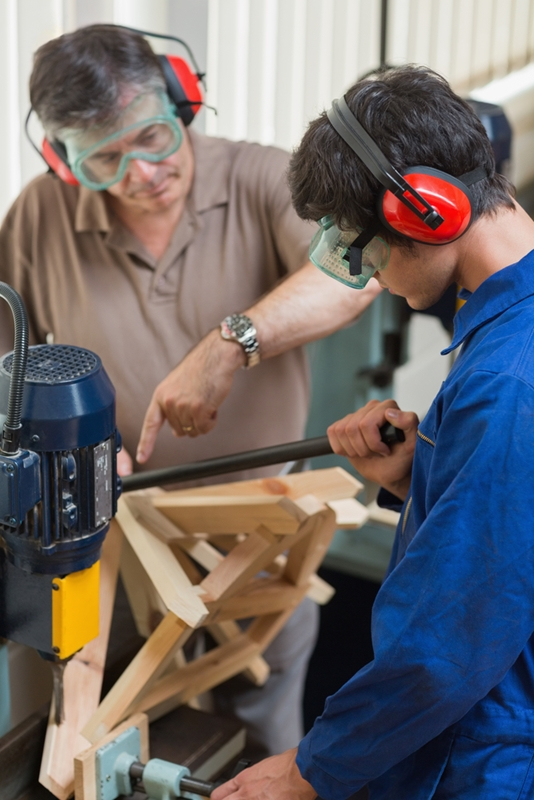 Training apprentices supplies skilled workers for the future.
