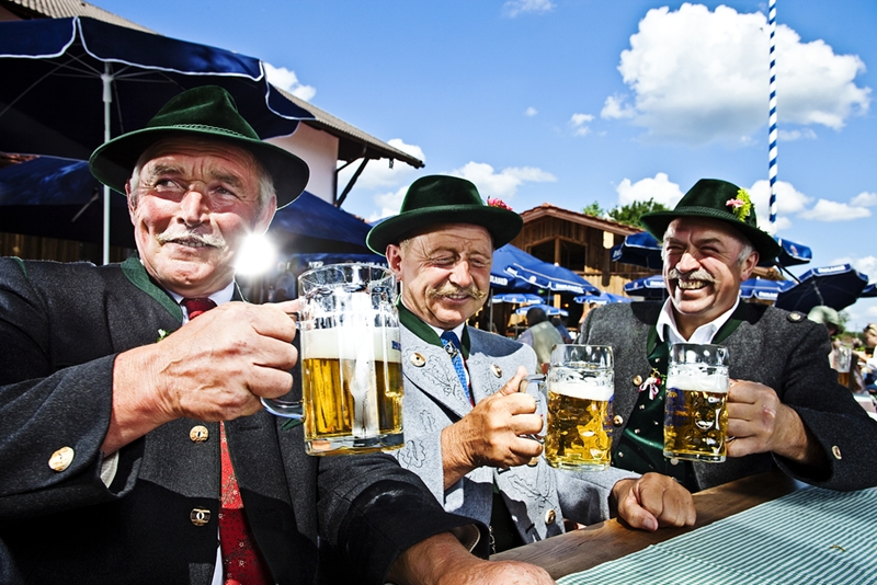 Raise a glass to celebrate Oktoberfest in Munich.