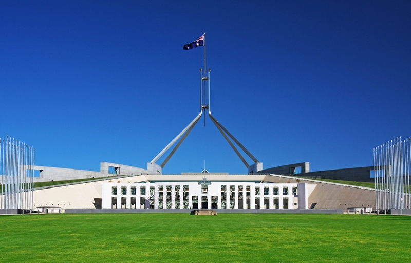 The decision to create a national space agency was made in Canberra a few months ago.