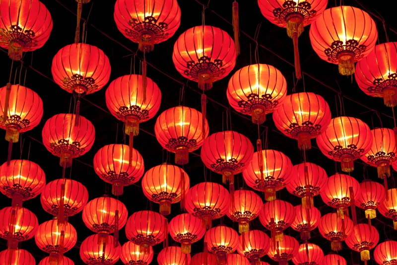 Lanterns create a mystical atmosphere as you dive into your favourite  fantasy.