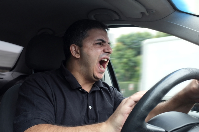 Telematics helps reduce road rage by monitoring vehicle speeds and operation.