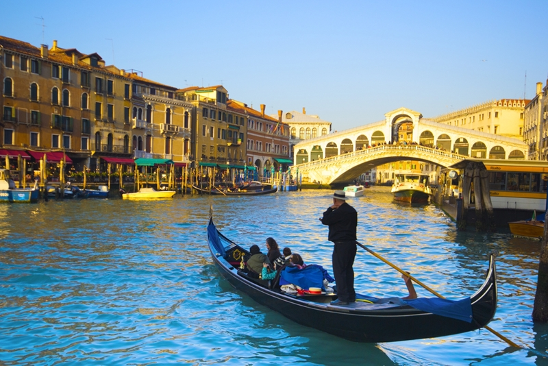 Venice's canals and gondolas are at the centre of the regatta.
