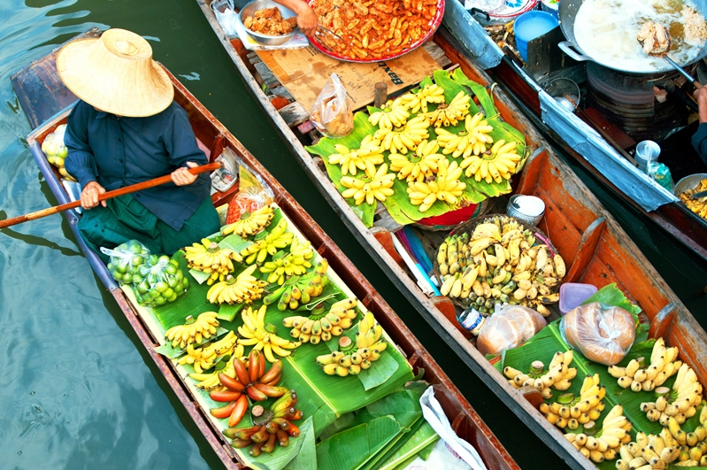 Thailand's thriving marketplaces are a sensory feast.