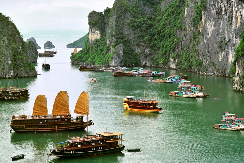 Don't settle for less at Ha Long Bay.