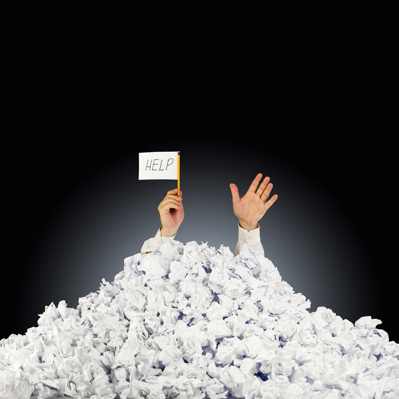 Address cash flow issues quickly, or they might someday bury you.