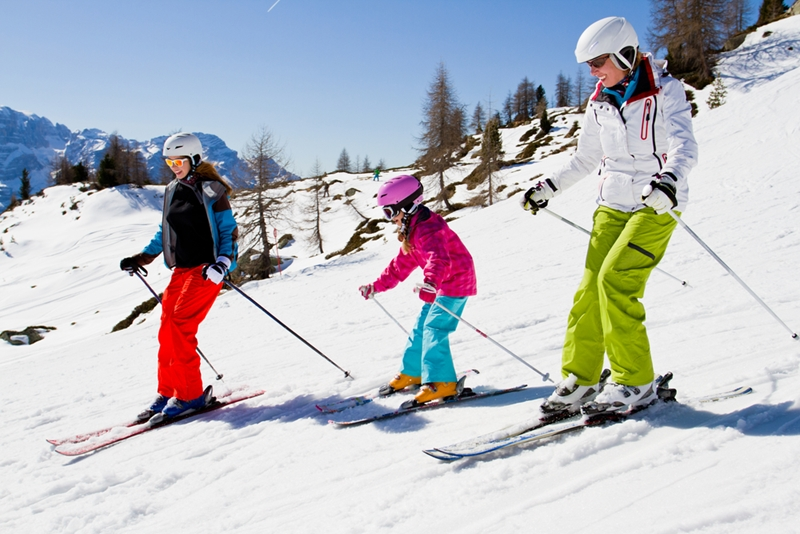 Explaining to your kids how a ski trip works can make them feel more comfortable with going.