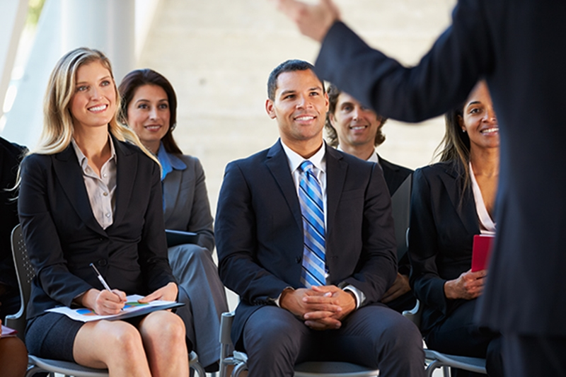 A great speaker always engages with their audience.