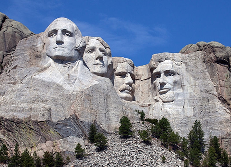 While you're at Sturgis, it's just a short trip to check out Mount Rushmore.