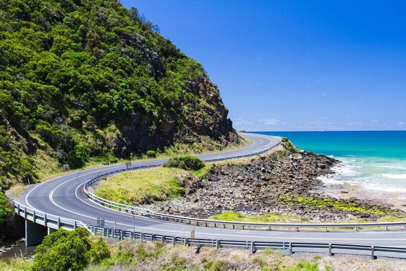 You're going to want to stop and camp when journeying along the Great Ocean Road.