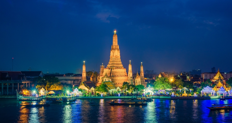 Temples are an integral part of Thai culture.