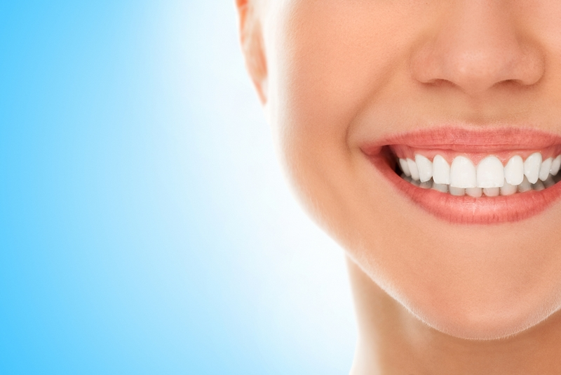 Sodium bicarbonate (baking soda) is an effective natural tooth whitener.