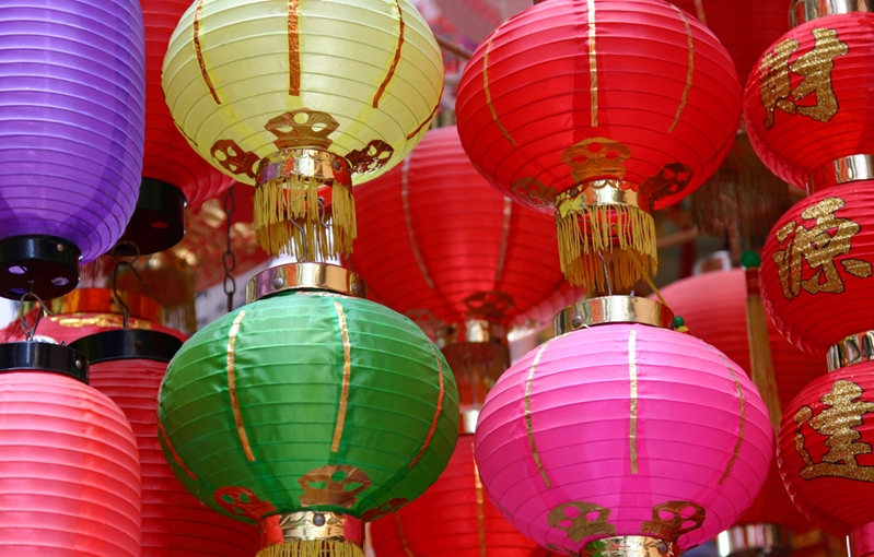 The bright lights of Hong Kong attract shoppers from around the world.