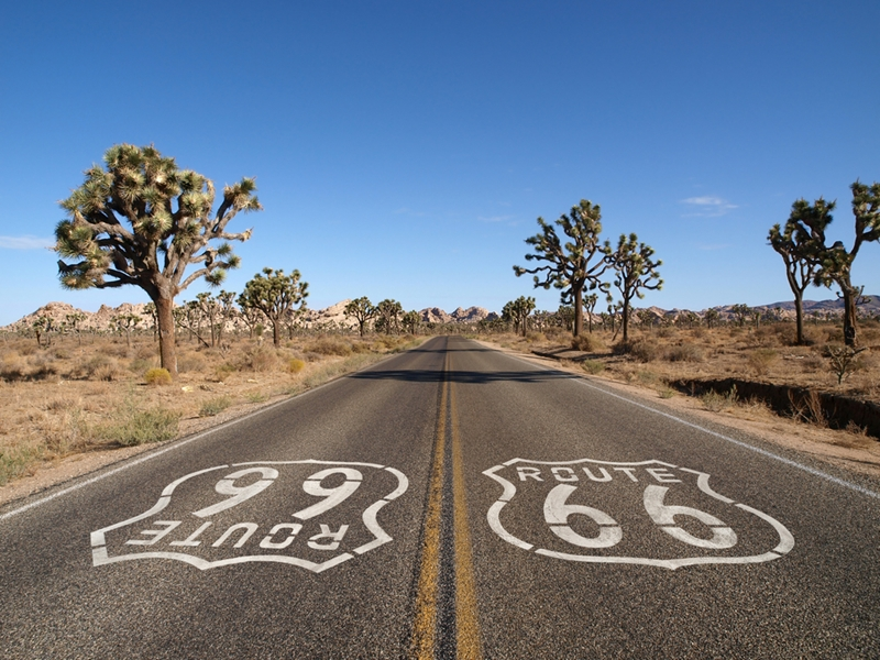 Route 66 passes through different climate zones, making weather patterns an important consideration for when to travel.