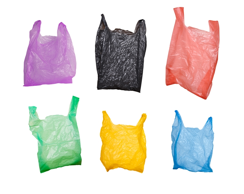 The plastic bag saves the budget traveller's day.