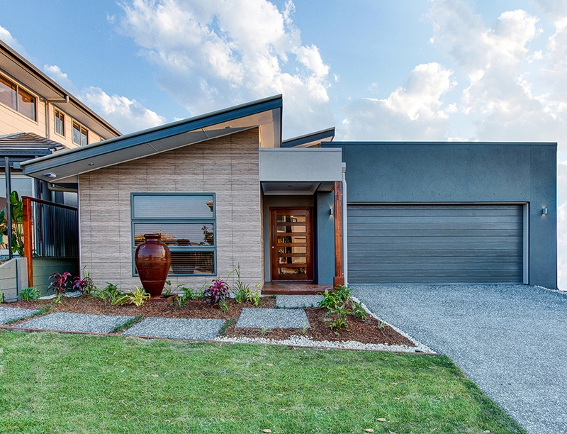 An attached garage provides convenient access to the rest of your home.