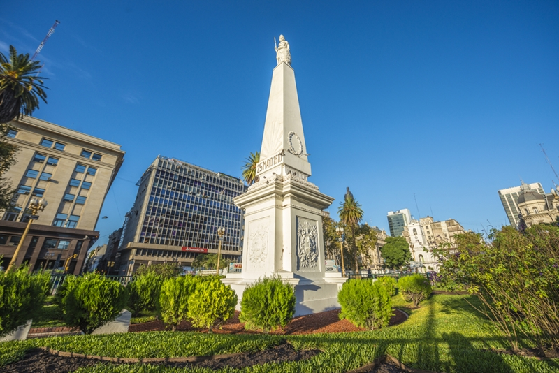 Plaza de Mayo is steeped in history.