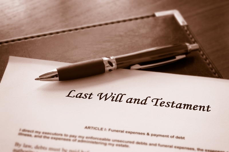 A valid will is important for having your assets apportioned as you intend.