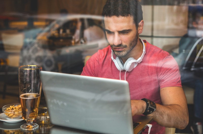Online courses mean you can study for a new career when it suits you.