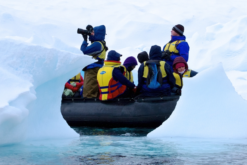 There will be many photographic moments worth sharing at the Antarctic Peninsula.