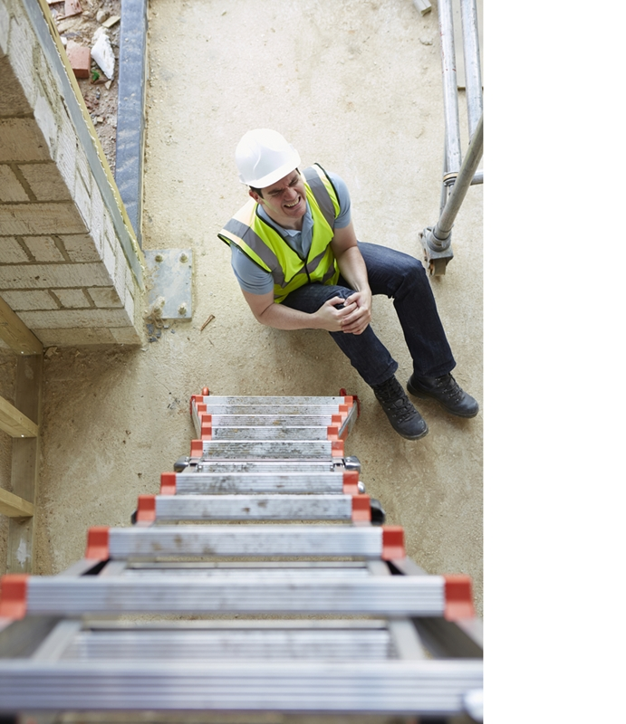 It's important to minimise the risk of a workplace injury.