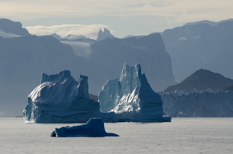 Icebergs and dramatic natural features are a staple of Scoresby Sund. Image credit: Chris Morley
