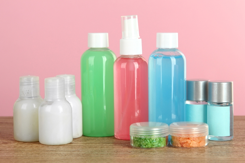 Save yourself major dollars by making your own travel mini toiletries.
