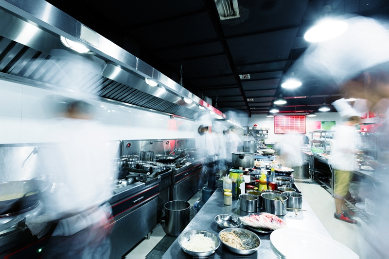 Many people are attracted to the vibrant rush of a busy kitchen when choosing their career.