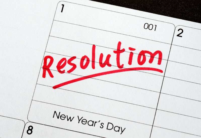 The new year means a new set of resolutions.