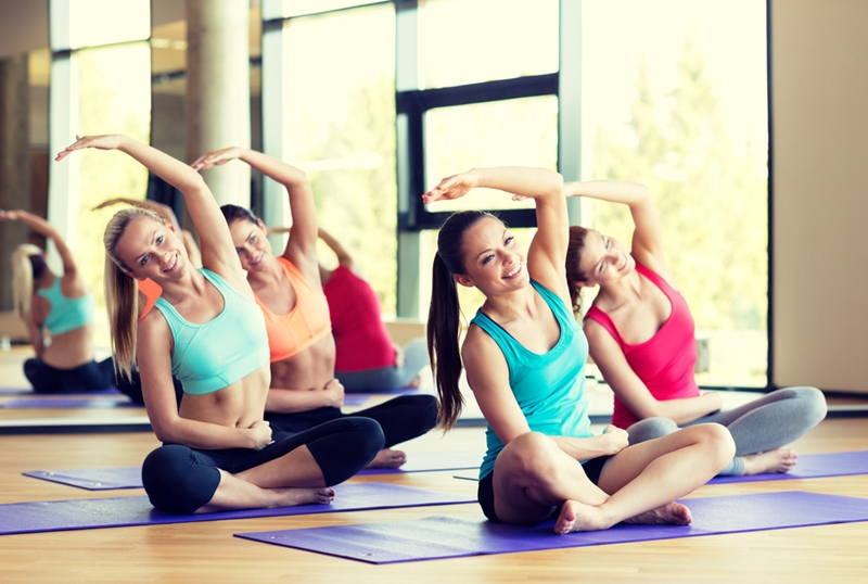 Working out with a group of people can be great motivation for those who are struggling with solo exercises.