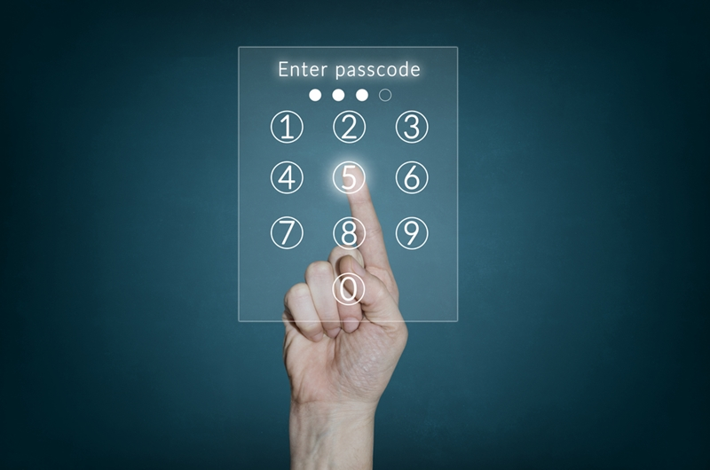 With access control you can assign your employees a specific pin that allows them entry according to their permissions.