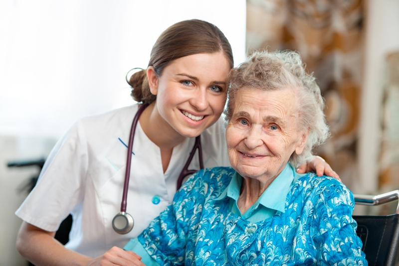 Nursing homes have medical staff available.