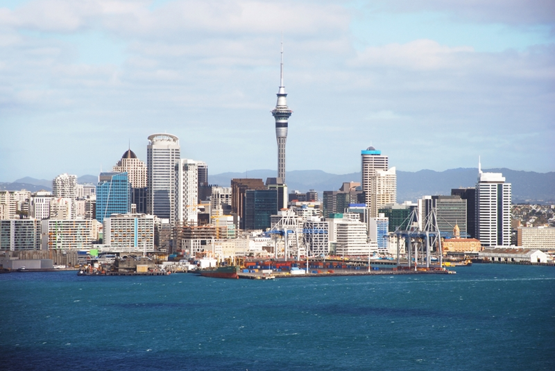 Auckland is considered a low seismic risk area.
