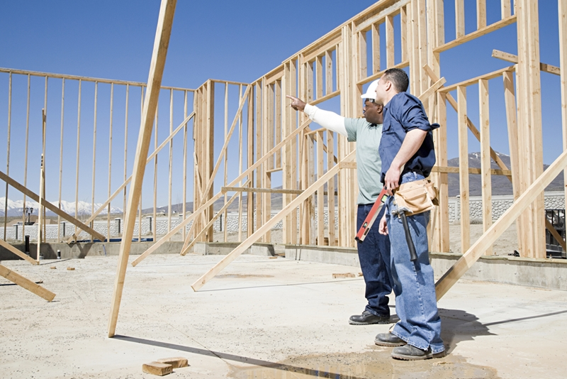 There's a lot of work involved in building your first home.