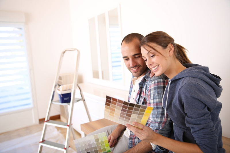 You've got to worry about sorting your first home loan before you even think about decorating!
