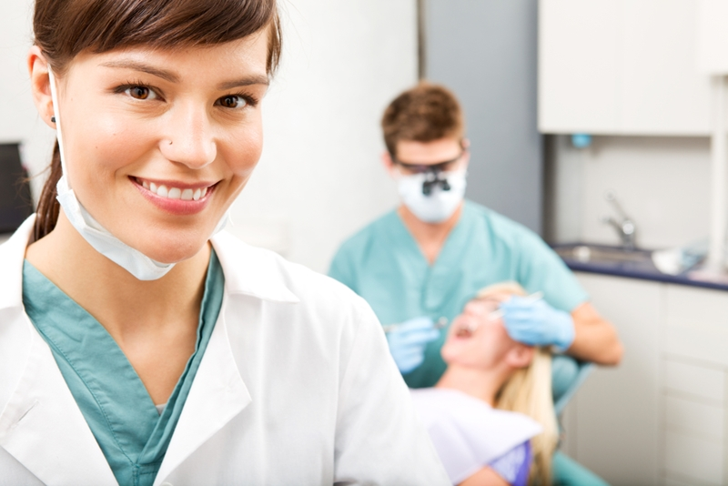 Dental hygienists can assist dentists in their appointments.