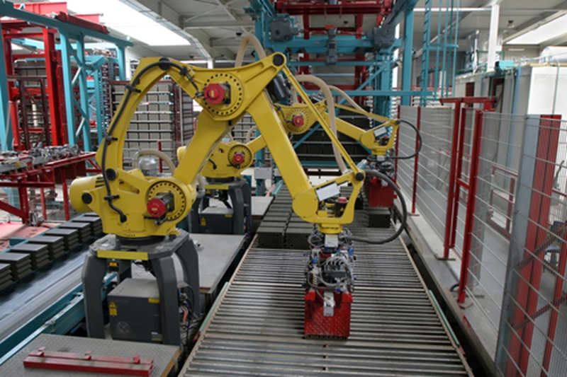Robots used in automation can improve productivity, but too much and it can be harmed.