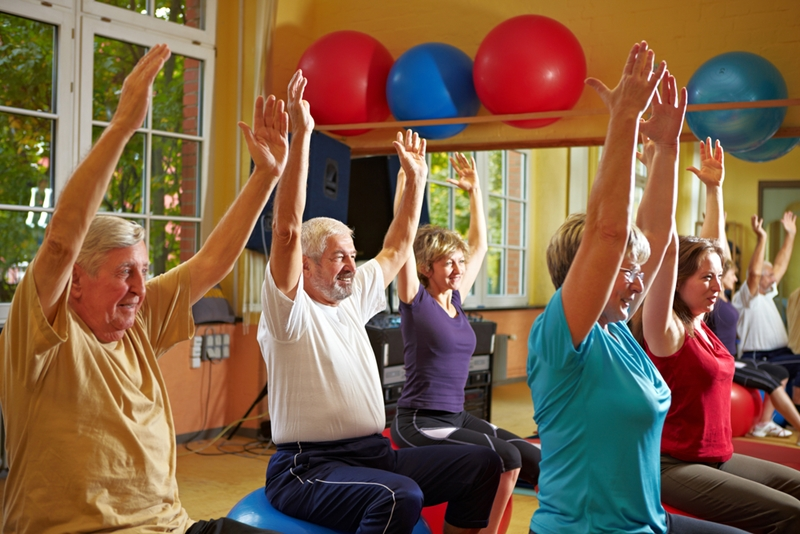 An active lifestyle is vital in your later years.