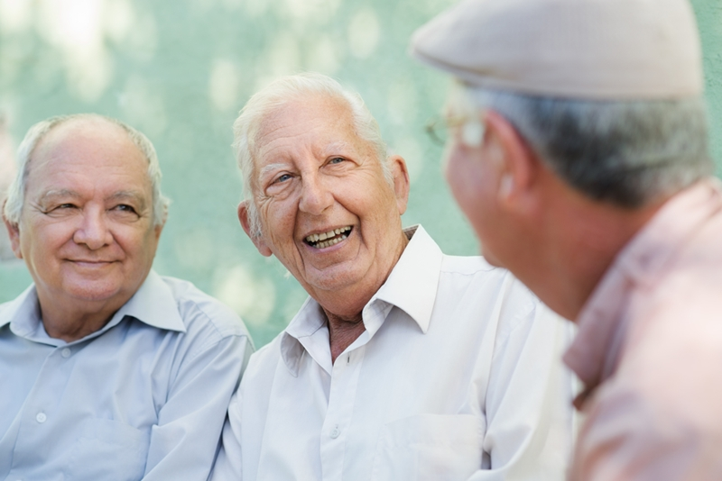 Being open to dialogues about men's health keeps men living happily for longer.