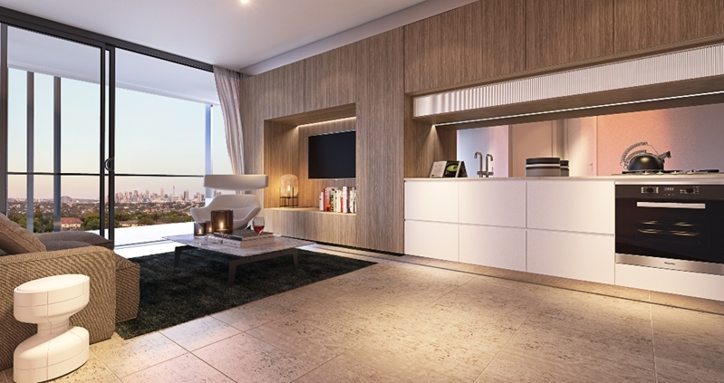 Space in a luxury apartment is absolutely vital.