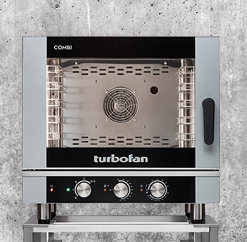 Combi-steam ovens take up very little space.