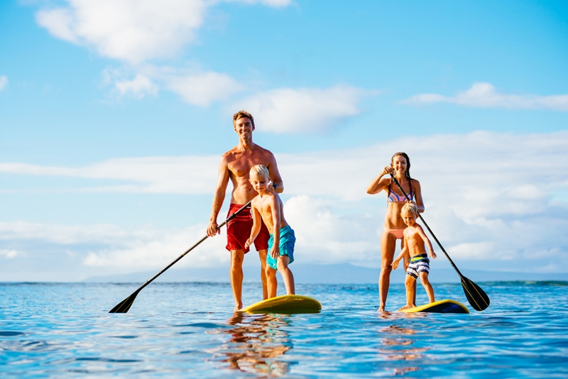 The whole family can enjoy these activities in Hawaii.
