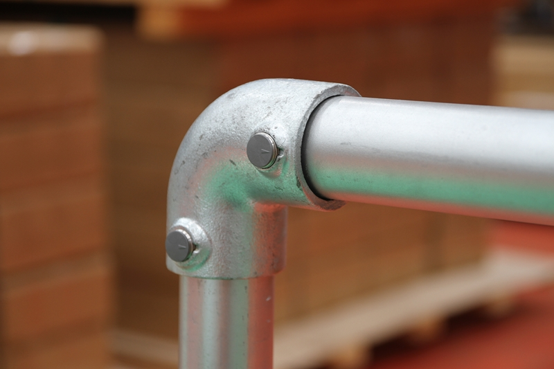 Easy to follow instructions makes the Monowills modular safety barrier quick to install.