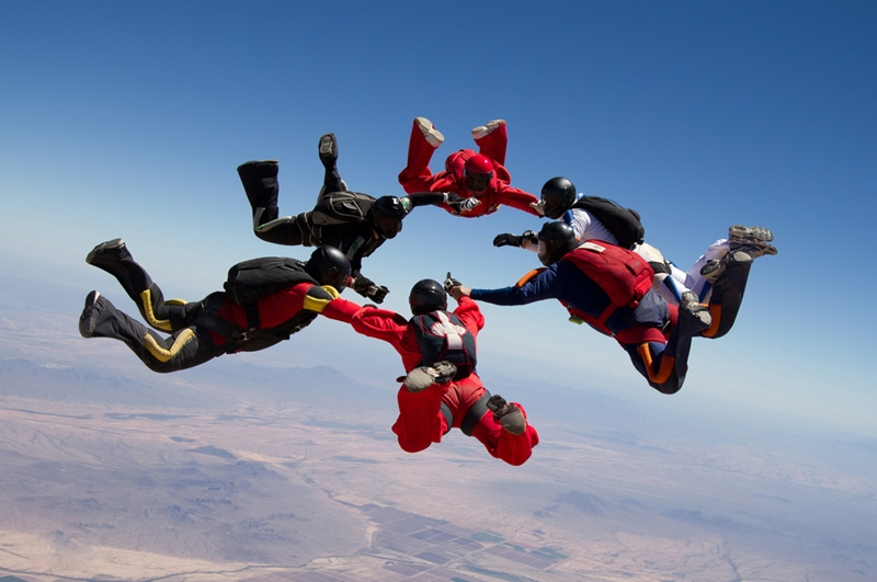 Unfortunately, your TID policy doesn't cover sky diving.