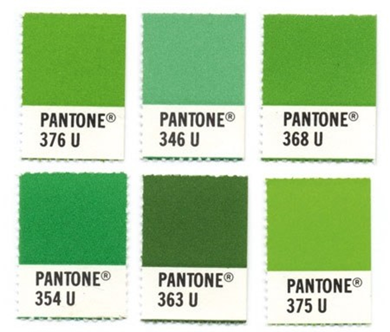 Pantone's range of greens are ideal for your next renovation.