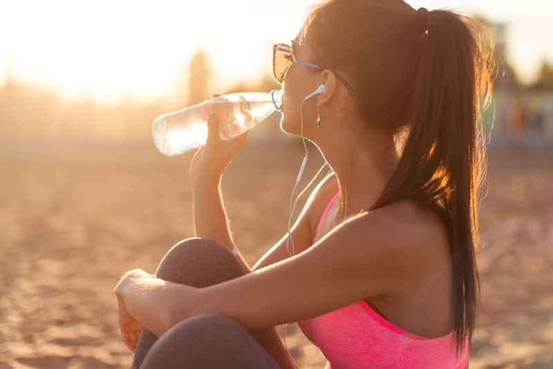 Drink lots of water before and after your deep tissue massage.