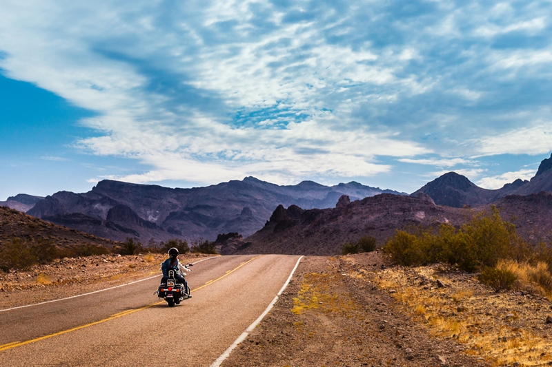 Route 66 provides stunning views, no matter the season