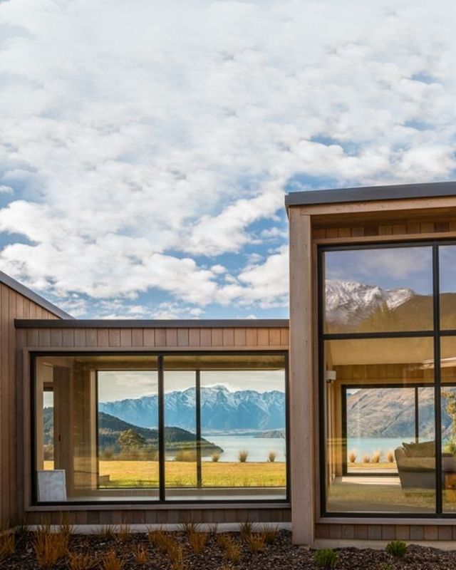 Use windows to make the most of stunning views.