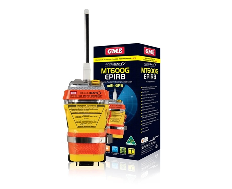 Be prepared - make sure locating you is simple with a distress beacon.