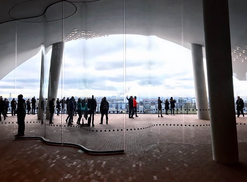 Hamburg's Elbphilharmonie concert hall was recently opened and has added a touch of sophistication to the city's port area.