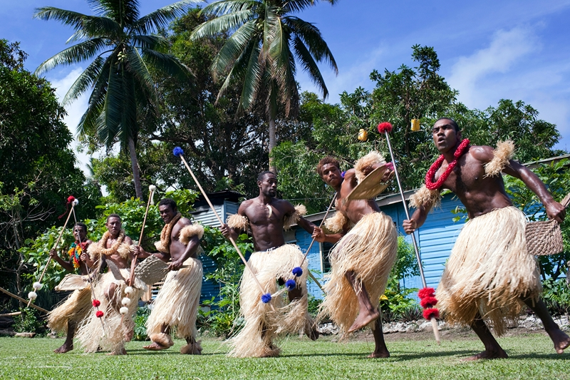 Enjoy cultural demonstrations at the local Fijian village.